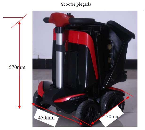 bateria scooter transformer. Viajar en avión