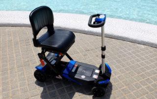 Alquiler de scooters plegables en Valencia. Entrega, recogida a domicilio
